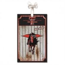Texas Tech Red Raiders Corrugated Metal Ornament