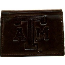 Texas A&M Aggies Black Leather Wallet