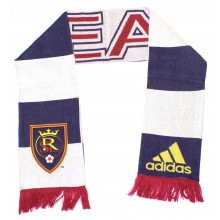MLS Real Salt Lake Applique Fringed Scarf