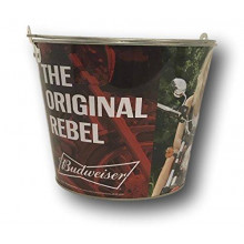 "Budweiser ""Original Rebel""  Beer  Bucket"