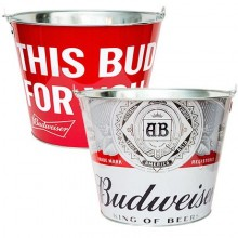 "Budweiser ""This Bud's For You"" Budweiser Beer  Bucket"