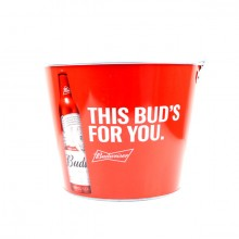 "Budweiser ""This Bud's For You"" Classic Beer  Bucket"