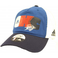 OKC Thunder Girls Block Adjustable Hat