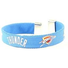 OKC Thunder Ribbon Band Bracelet