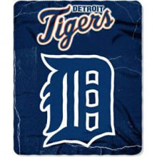 "Detroit Tigers  50"" x 60"" Lightning Fleece Throw Blanket"