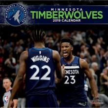 Minnesota Timberwolves 12 x 12 Wall Calendar 2019