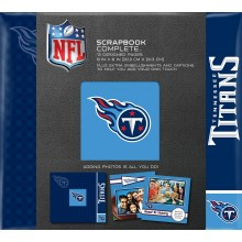 "Tennessee Titans 8"" X 8"" Complete Scrapbook"