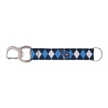 Tennessee Titans Argyle Carabiner Lanyard Key Chain