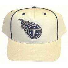 Tennessee Titans Beige Embroidered Adjustable Headwear