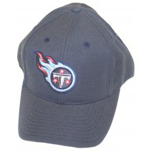 Tennessee Titans Dark Blue Logo Embroidered Headwear