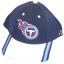 Tennessee Titans Dual Stripe Embroidered Adjustable  Headwear