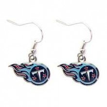 Tennessee Titans Logo Dangle Earrings