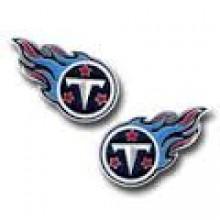 Tennessee Titans Logo Stud Earrings
