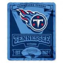 "Tennessee Titans 50"" x 60"" Marque Fleece Throw Blanket"