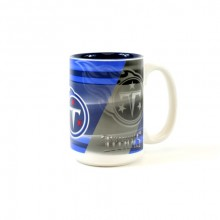 Tennessee Titans 15oz Shadow Ceramic Mug