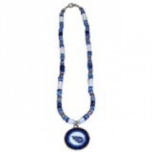 Tennessee Titans Shell Necklace, 18-Inch, White
