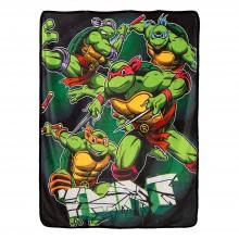 Teenage Mutant Ninja Turtles Real Deal Super Plush Fleece Throw