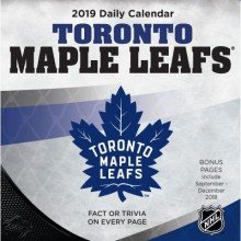 Toronto Maple Leafs 2019 Boxed Desk Calendar