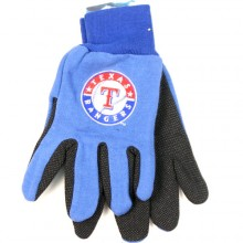 MLB Texas Rangers Team Color Utility Gloves
