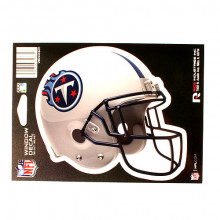 "Tennessee Titans 6"" Helmet Die-Cut Window Decal"