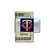 Minnesota Twins Bar Money Clip