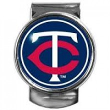 Minnesota Twins Dome Logo Money Clip
