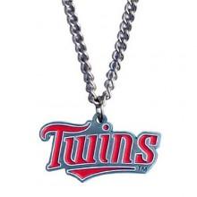 Minnesota Twins Logo Chain Necklace