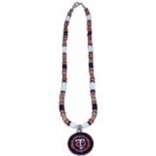 Minnesota Twins Shell Necklace, 18-Inch, White