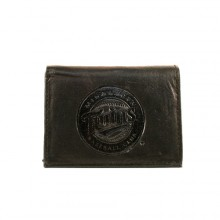 Minnesota Twins Black Tri-Fold Leather Wallet