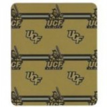 UCF Knights 3 Bar Repeater Fleece Throw Blanket