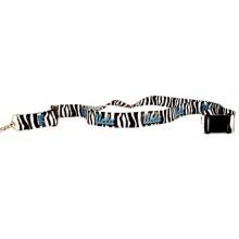 NCAA UCLA Bruins Zebra Print Breakaway Lanyard Key Chain