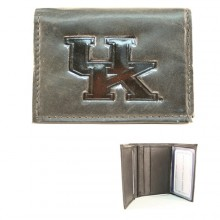 Kentucky Wildcats Black Leather Wallet
