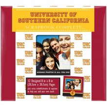 "USC Trojans 8"" X 8"" Complete Scrapbook Kit"