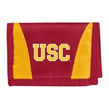 USC Trojans Tri-Fold Nylon Chamber Wallet