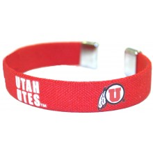 Utah Utes Ribbon Band Bracelet