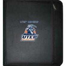 NCAA UTEP Miners 3-Ring Zippered Binder