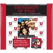 "Utah Utes 8"" X 8"" Complete Scrapbook Kit"