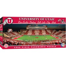 Utah Utes  1000 pc. Panoramic Puzzle