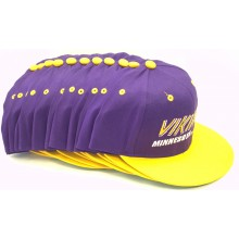 Minnesota Vikings 12 Pack of Vintage Flat Bill Embroidered Snapback Hats