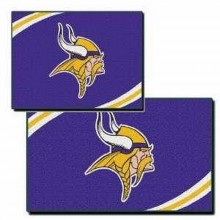 Minnesota Vikings 2 Piece Rectangular Rug Set