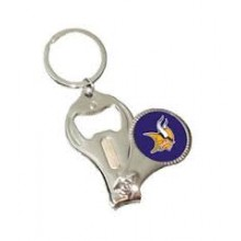 Minnesota Vikings 3-in-1 Nailclipper Keychain