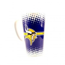 Minnesota Vikings 16-ounce Sculpted Latte Mug
