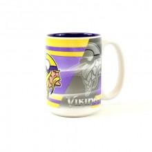 Minnesota Vikings 15oz Shadow Ceramic Mug