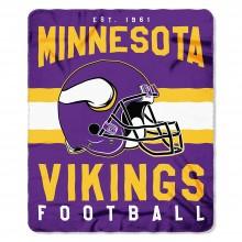 "Minnesota Vikings  50"" x 60"" Singular Fleece Throw Blanket"
