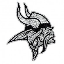 "Minnesota Vikings 6"" Bling Emblem"