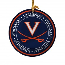 Virginia Cavaliers Ceramic Mini Plate Ornament