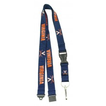 NCAA Virginia Cavaliers Team Color Breakaway Lanyard Key Chain