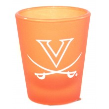 Virginia Cavaliers Frosted 2 oz Shot Glass