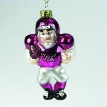 Virginia Tech Hokies Angry Man Football Player Ornament