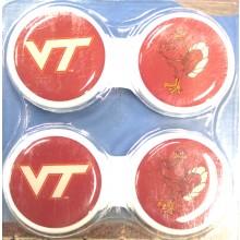 Virginia Tech Hokies Contact Lens Case 2 Pack